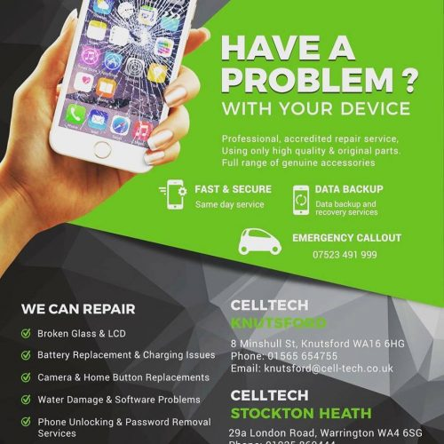 Cell Tech Knutsford